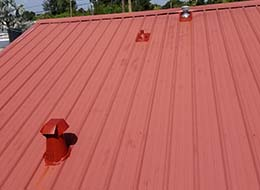Hotel & Condo Roofing - Metal Roofing