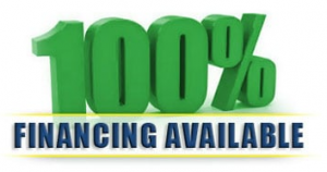 100% Financing Available